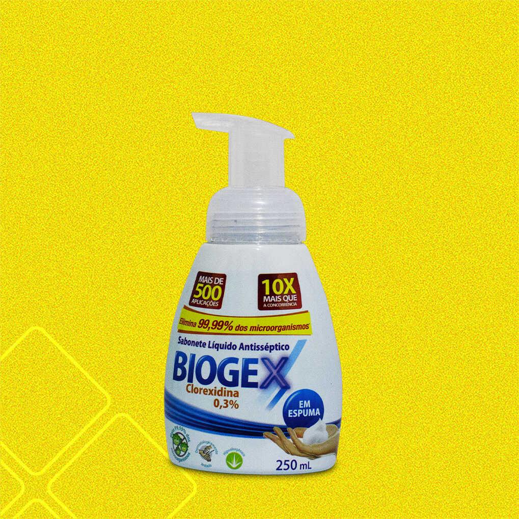 Biogex sabonete líquido NUTRIEX 250ml