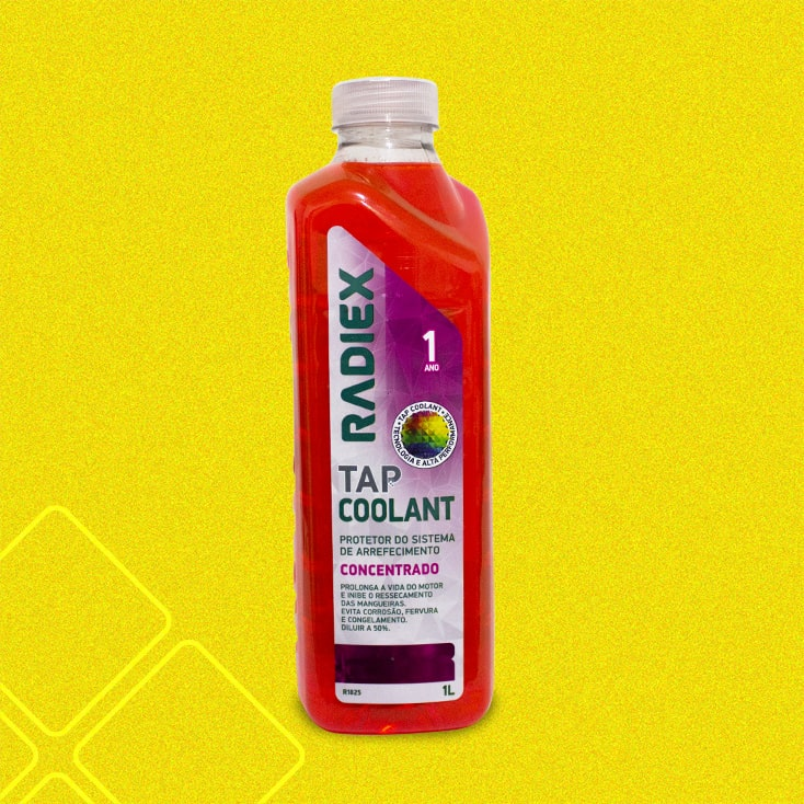 Tap Coolant Concentrado Rosa 1L RADIEX