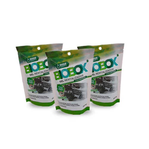 Caixa com 18 Gel Revitalizador BIOBOX RADIEX