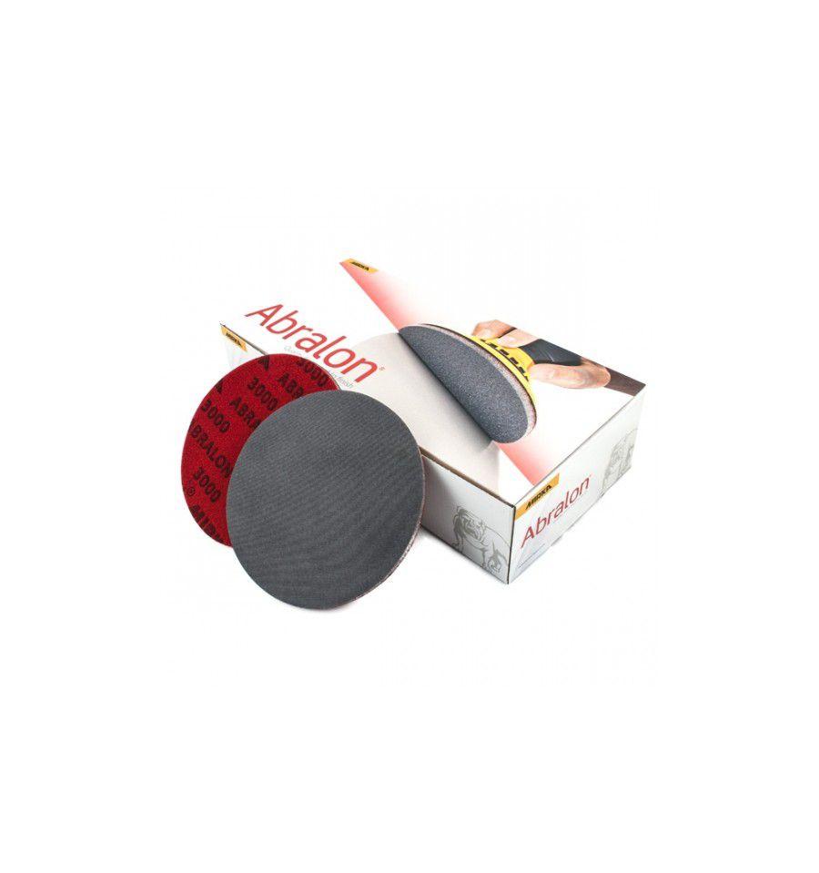 Caixa com 20 Discos Lixa Abralon 77mm Grip 3000 MIRKA