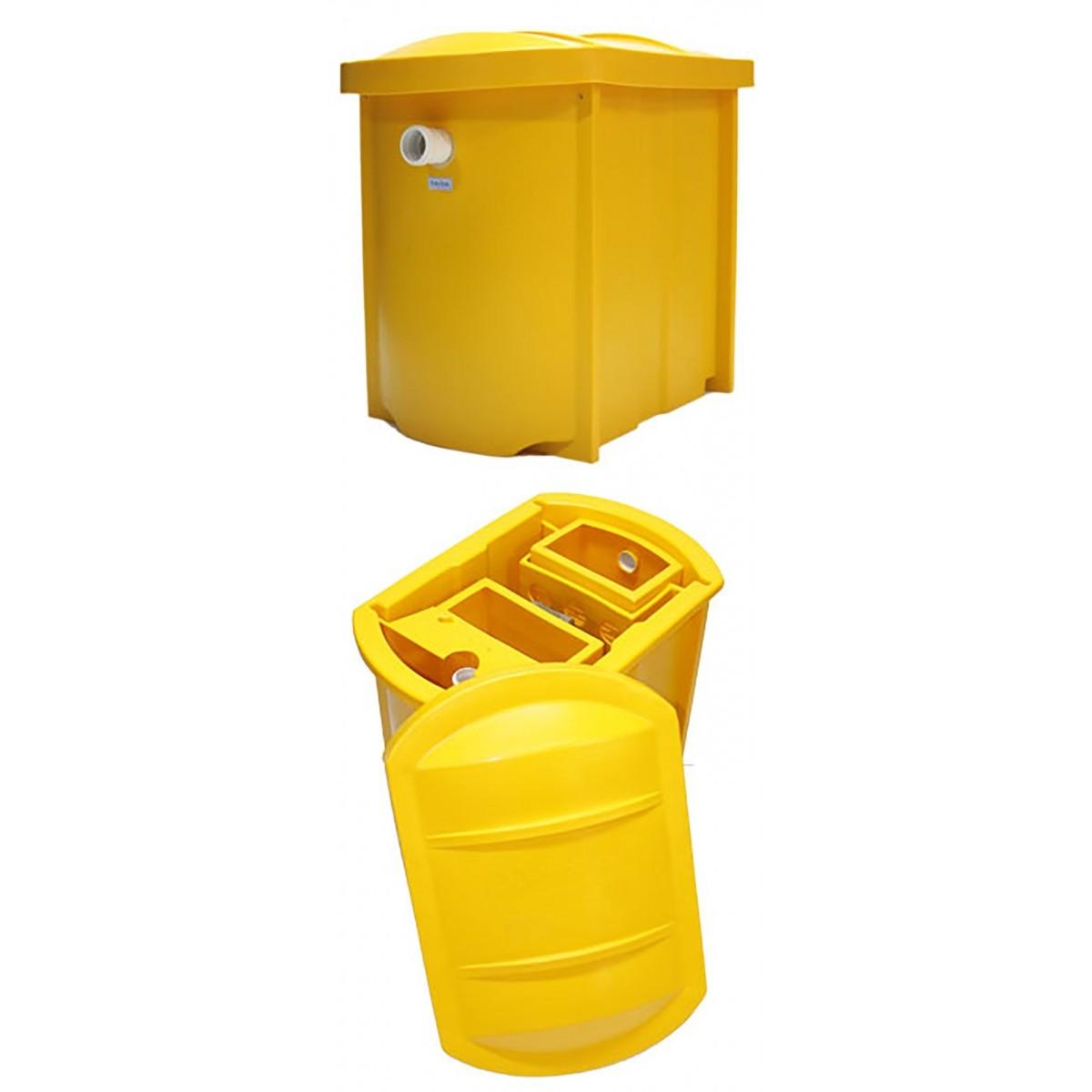 Caixa Separadora de Óleo e Água 1500L/h PURO DIESEL