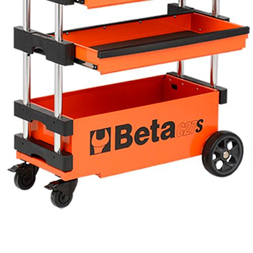 Carrinho De Ferramentas Beta Trolley Laranja C27S