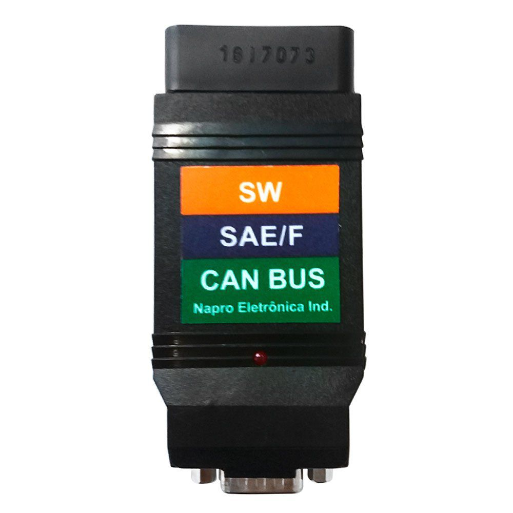 Conector CAN BUS (TROCA)  SAE / CAN / SW PC SCAN 3000 USB NAPRO