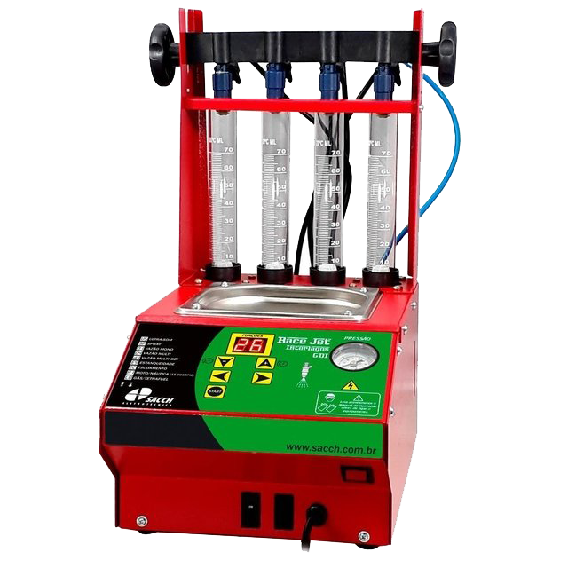 Máquina de Limpeza de Injetores de Injeção com GDI RACE JET GDI