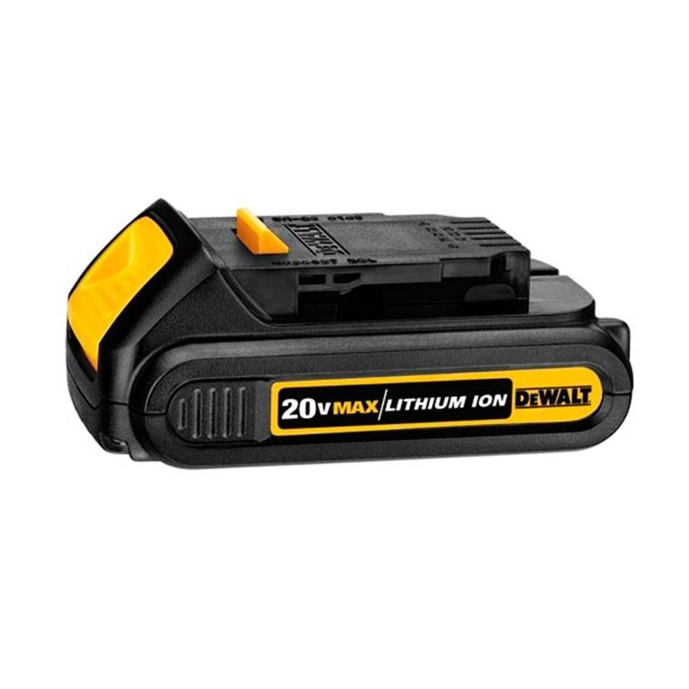 Parafusadeira/Furadeira de Impacto 1/2 Pol (13mm) Carregador Bivolt e 2 Baterias 20V MAX* 1,3 Ah DEWALT