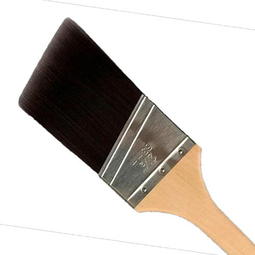 """Pincel Corte Ângulo 2.5"""" 63 mm EXIN ROYAL"""