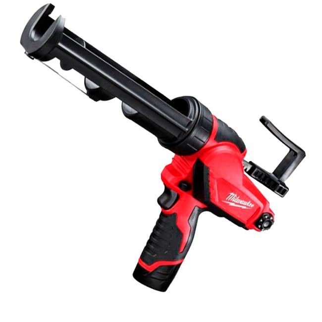 Pistola Aplicadora de Silicone 533mm com Bateria 12V e Carregador 110V MILWAUKEE