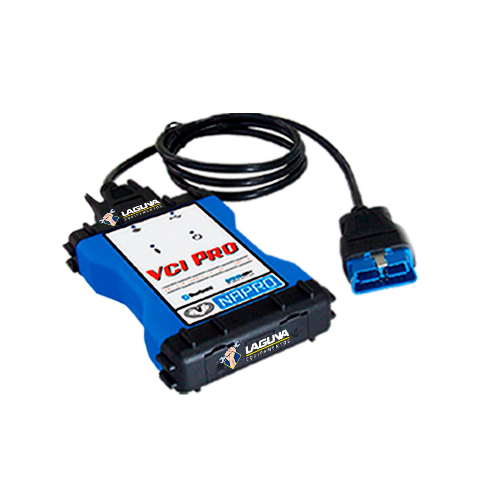Scanner automotivo PC-SCAN3000FL VCI PRO VERSÃO 21 NAPRO
