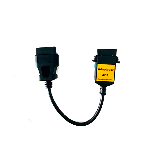 Scanner Automotivo PC-SCAN3000 FL Versão 21 c/ 14 cabos e conectores NAPRO