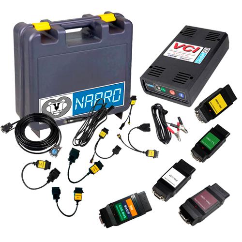 Scanner Automotivo PC-SCAN3000 FL Versão 18 c/ 14 cabos e conectores NAPRO