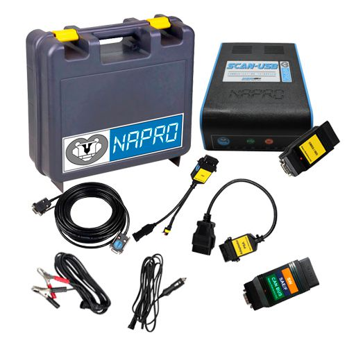 Scanner Automotivo PC-SCAN3000 FL Versão 21 c/ 7 cabos e conectores NAPRO