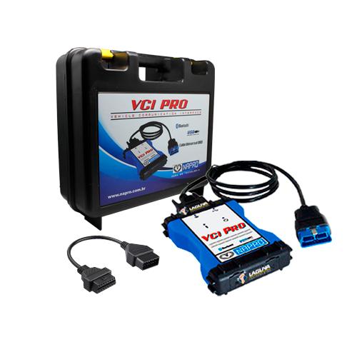 Scanner automotivo PC-SCAN3000FL VCI PRO VERSÃO 18 NAPRO