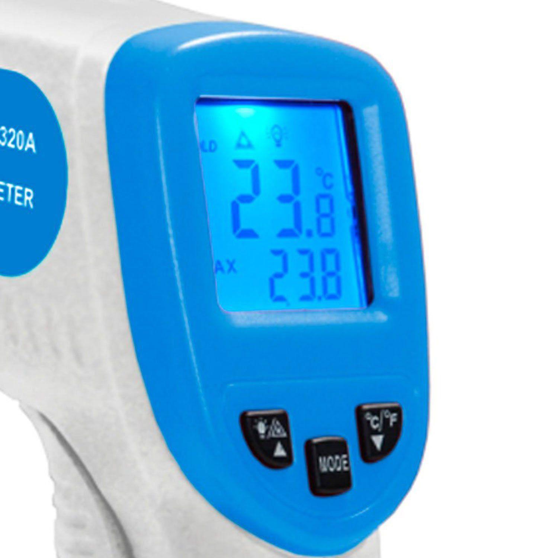 Termômetro Digital Infravermelho com Mira a Laser MINIPA - NÃO SÃO INDICADOS PARA MEDIÇÃO CORPORAL