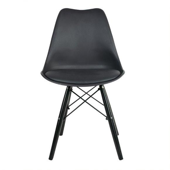 Cadeira Saarinen PP Base Injetável PP cor Preto