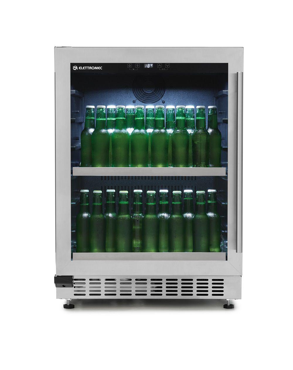 Beer Center 135 Litros Built-In Abertura Lado Esquerdo Elettromec