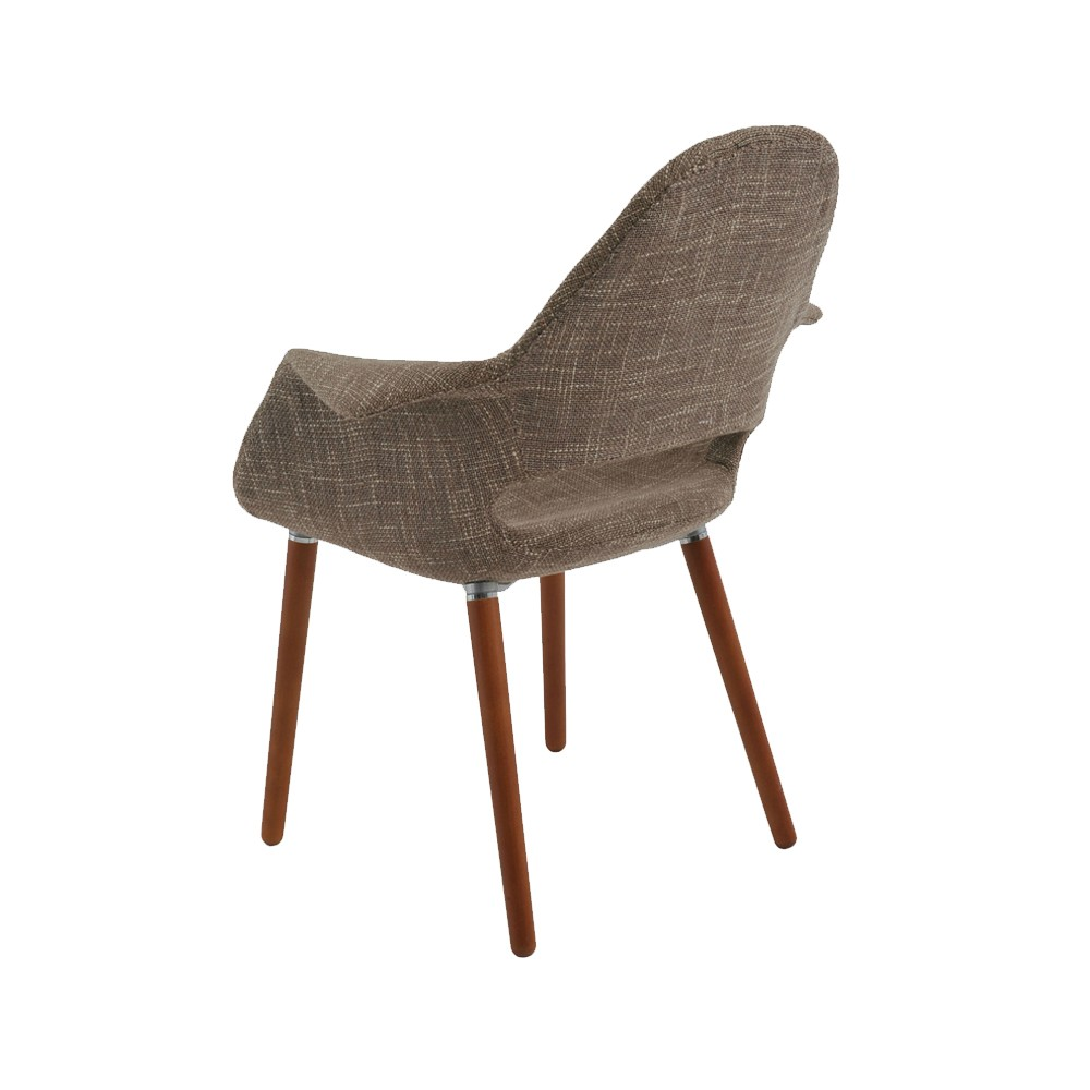 Cadeira Antônia Tecido Linho  Rivatti