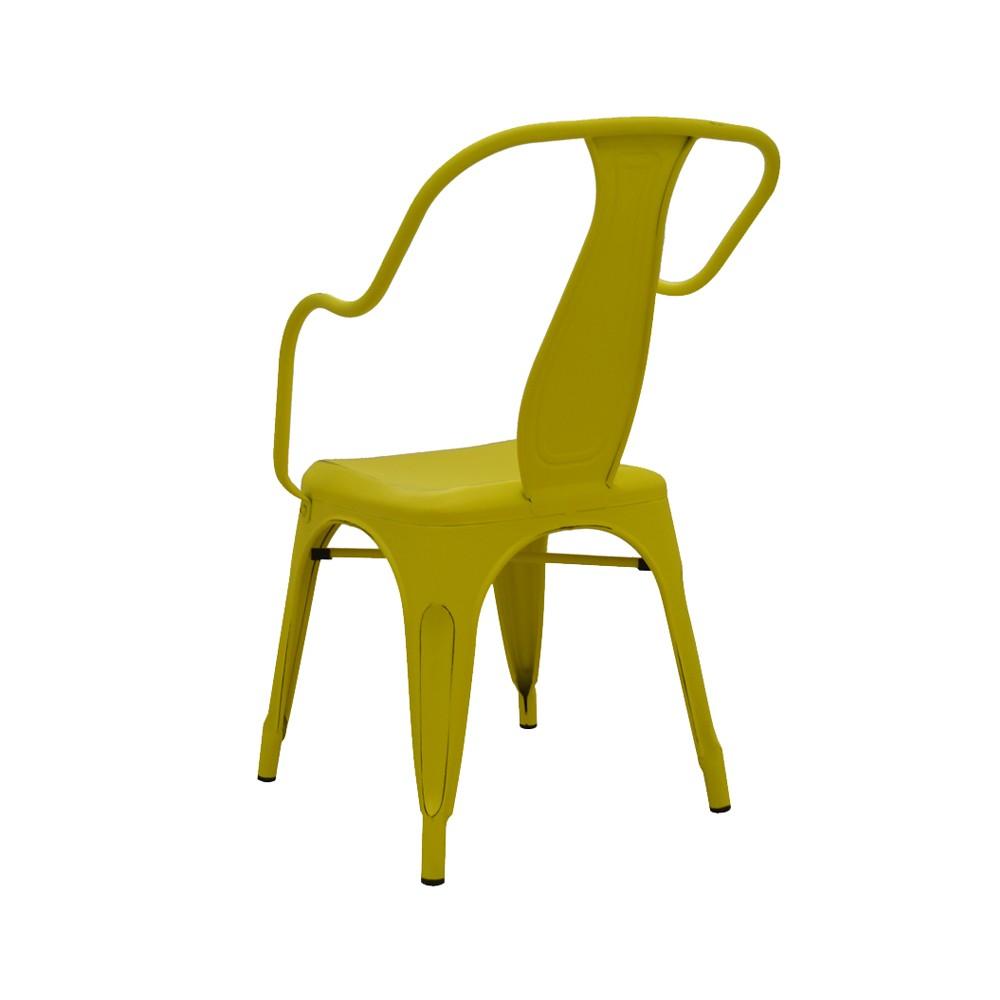 Cadeira Ariel Com Braços Vintage Rivatti