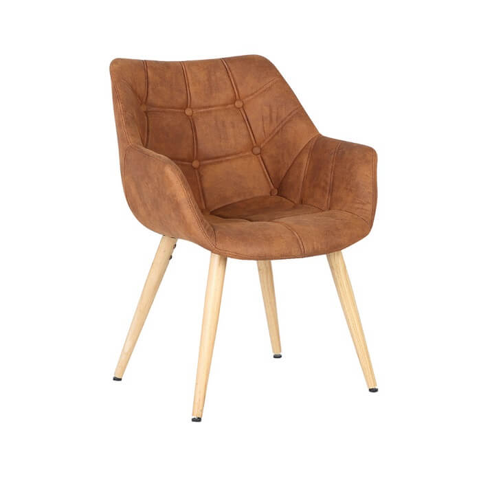 Cadeira Camila Suede e PU Rivatti