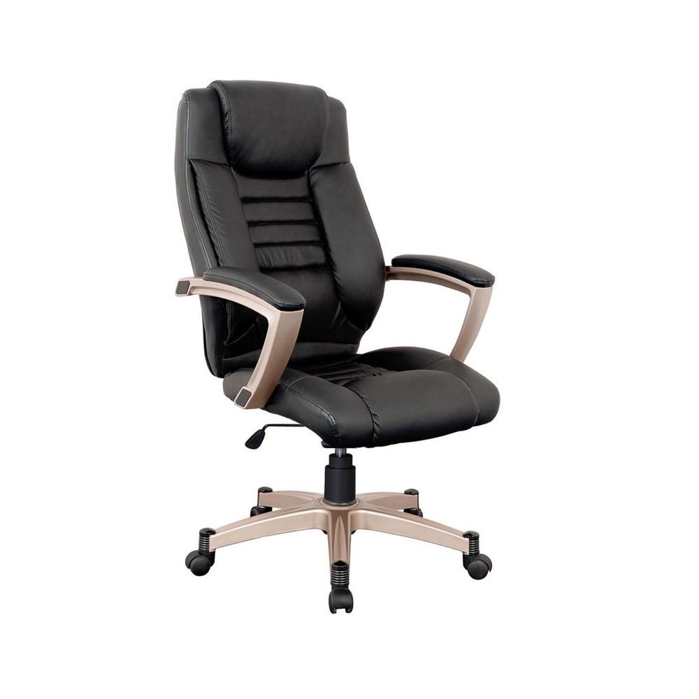 Cadeira Catalunha PVC PU Preto Rivatti