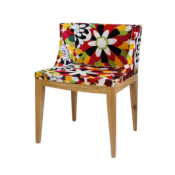 Cadeira Christie Floral Tecido A - OR Design