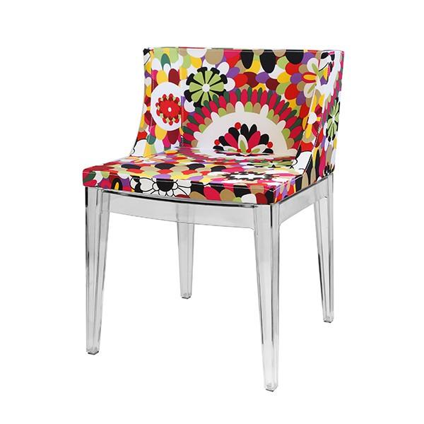 Cadeira Christie Floral Tecido B - OR Design