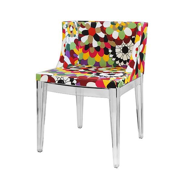 Cadeira Christie Floral Tecido C - OR Design