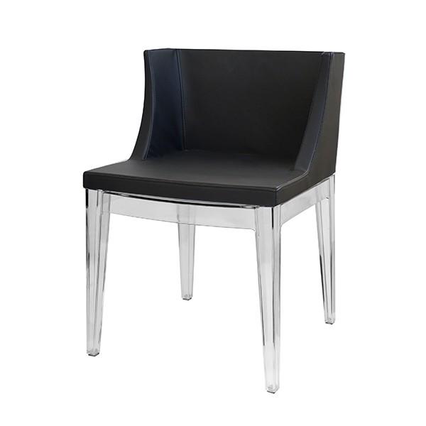 Cadeira de Jantar OR-1136 Preta Or Design