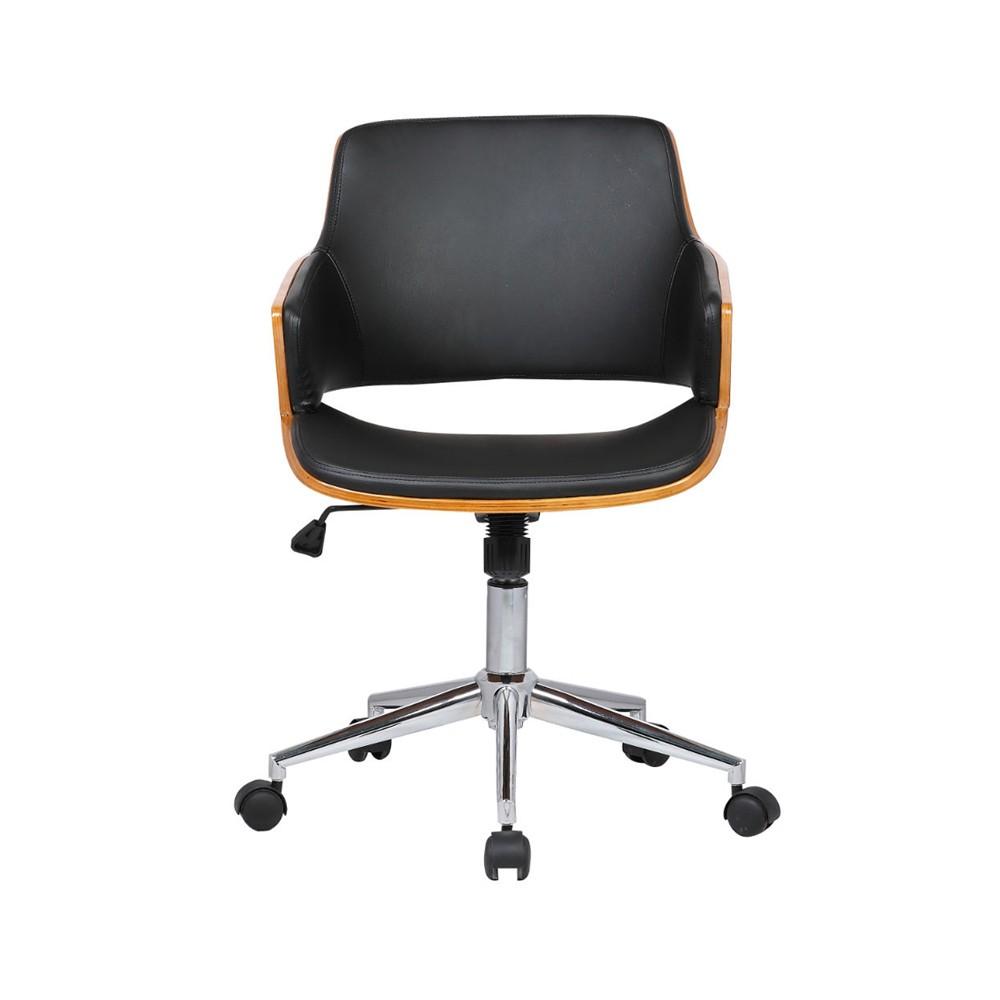Cadeira Débora PU Preto Rivatti