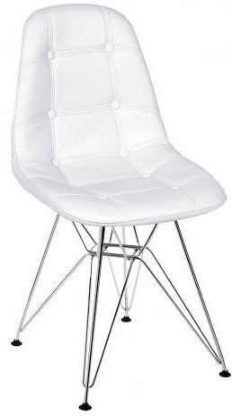 Cadeira Eames Botonê Base Cromada OR Design