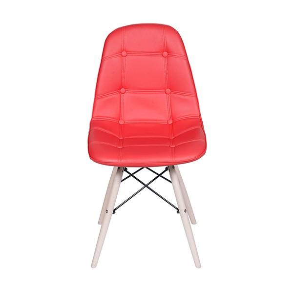 Cadeira Eames Botonê Base Madeira Clara OR Design