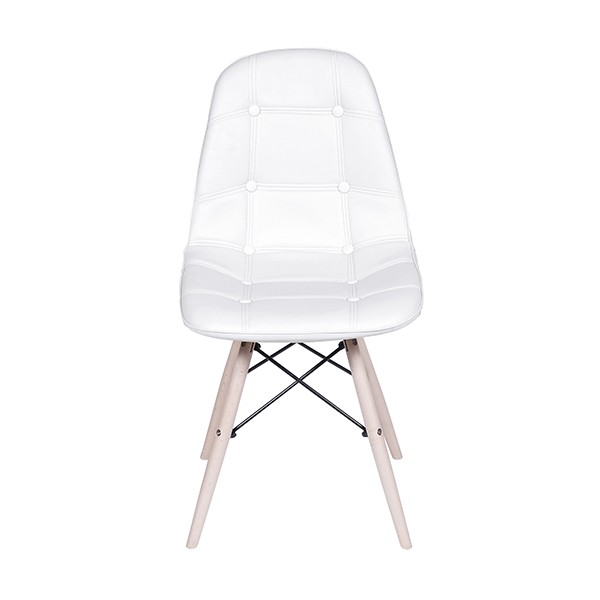Cadeira Eames Botonê Base Madeira OR Design