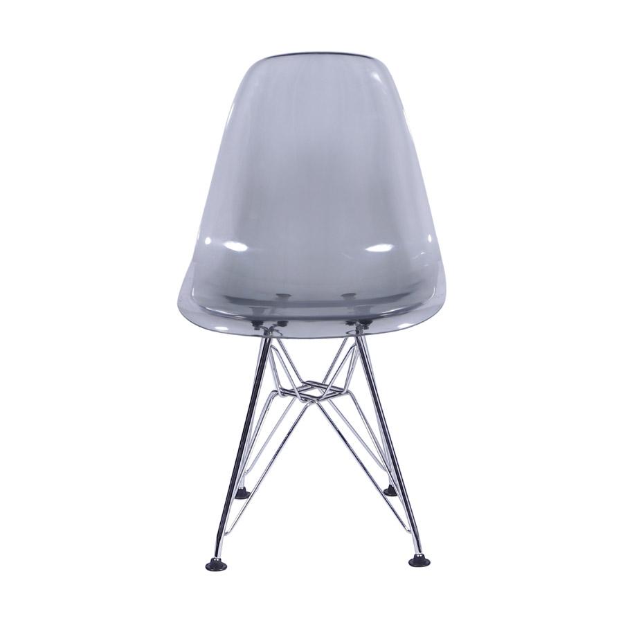 Cadeira Eames PC Base Aço cor Cromado
