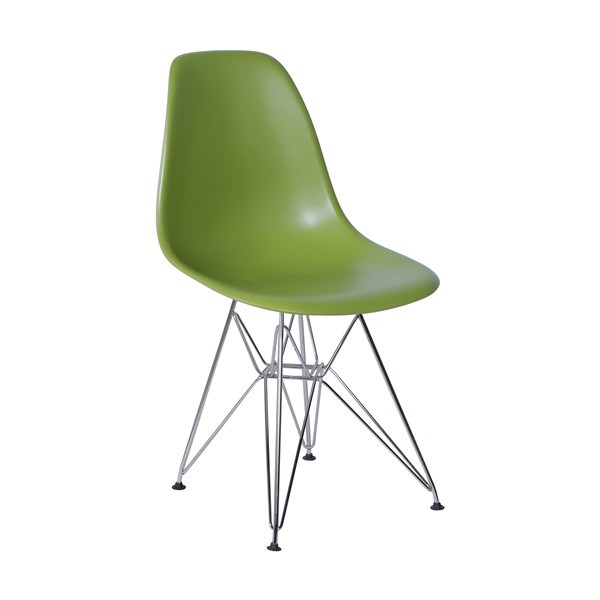 Cadeira Eames Polipropileno Base Cromada OR Design