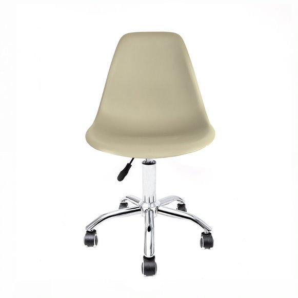 Cadeira Eames PP Base Office Cromado