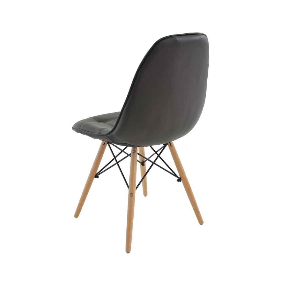 Cadeira Eiffel Botonê Base Madeira Rivatti