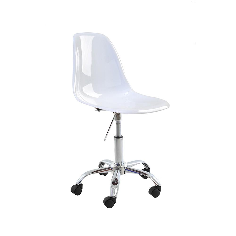 Cadeira Eiffel Policarbonato Giratória Rivatti