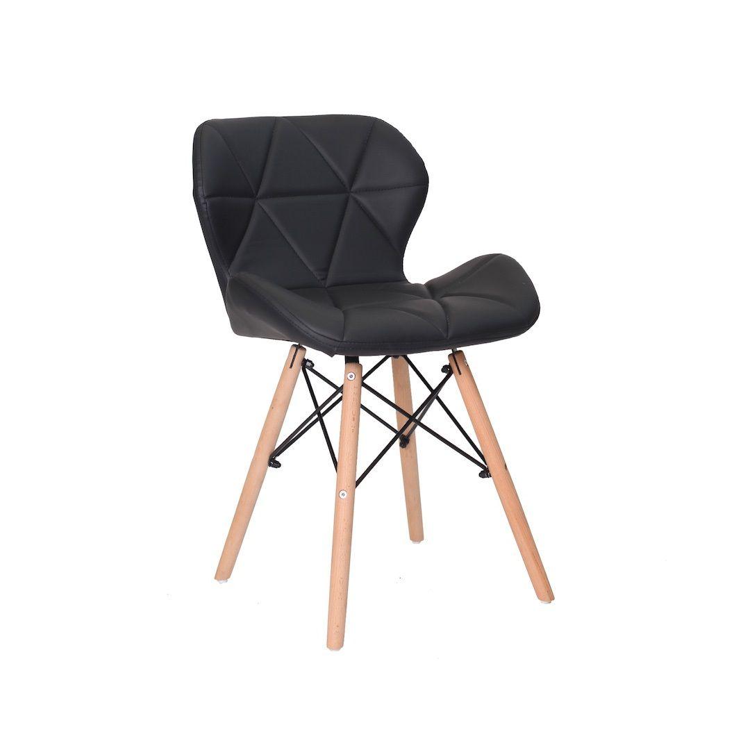 Cadeira Eiffel Slim Base Madeira