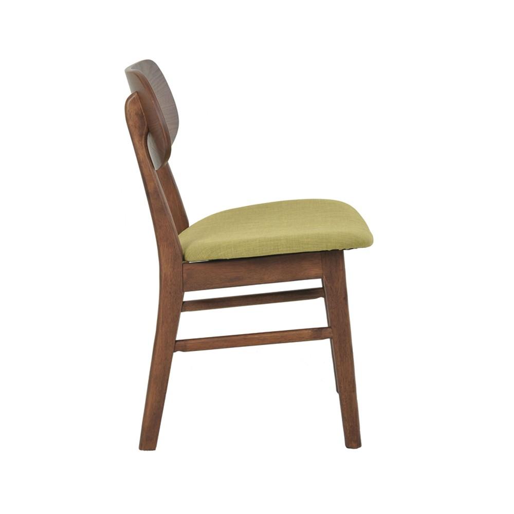 Cadeira Linha Escandinava Erica Com Encosto Madeira Rivatti