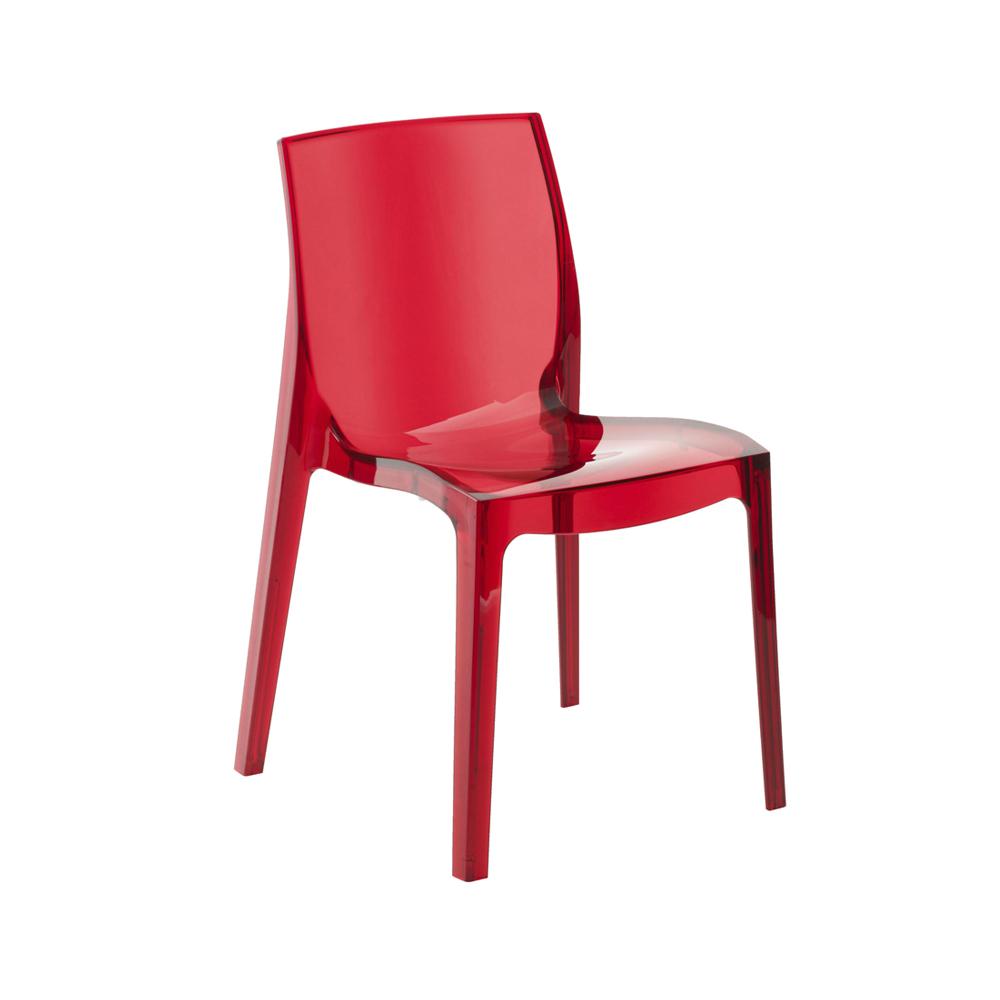 Cadeira Translúcida Femme Fatale Rivatti