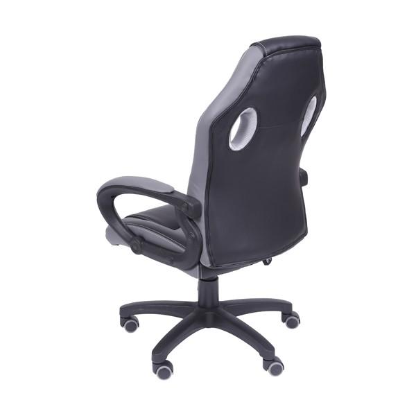 Cadeira Gamer Preta e Cinza OR-3316 OR Design