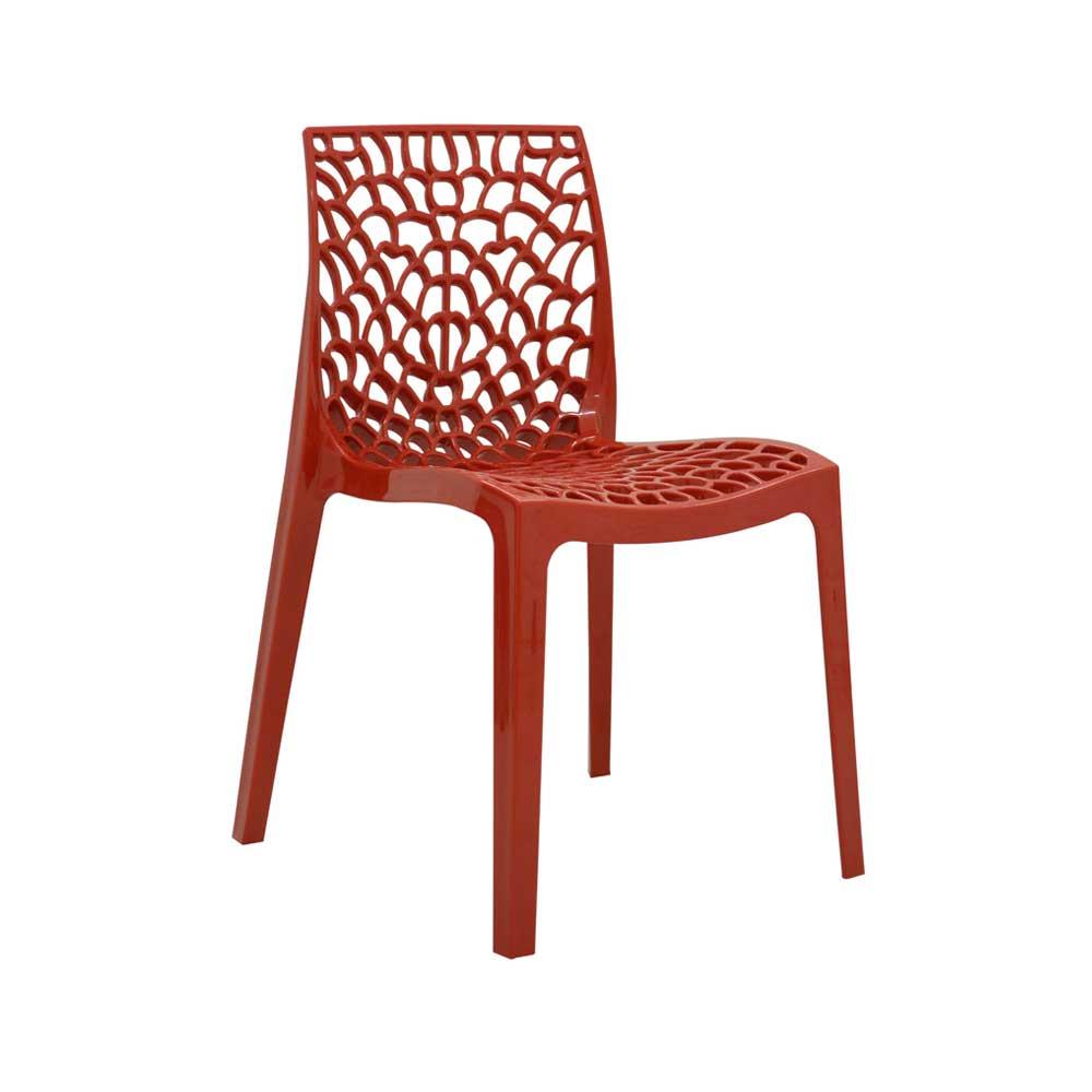 Cadeira Gruvyer Polipropileno Alto Brilho Rivatti