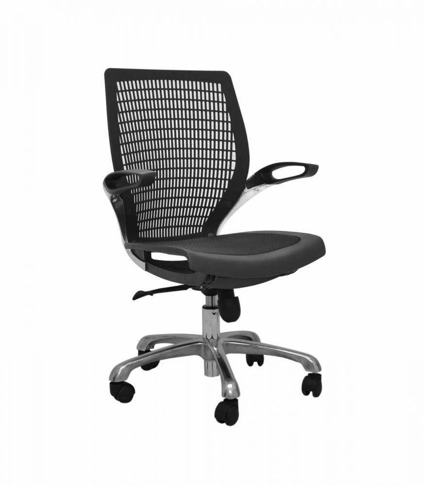 Cadeira Hera Tela Mesh Base Alumínio Rivatti