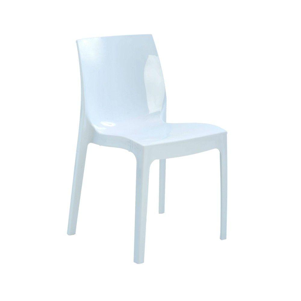 Cadeira Ice Polipropileno Alto Brilho Rivatti