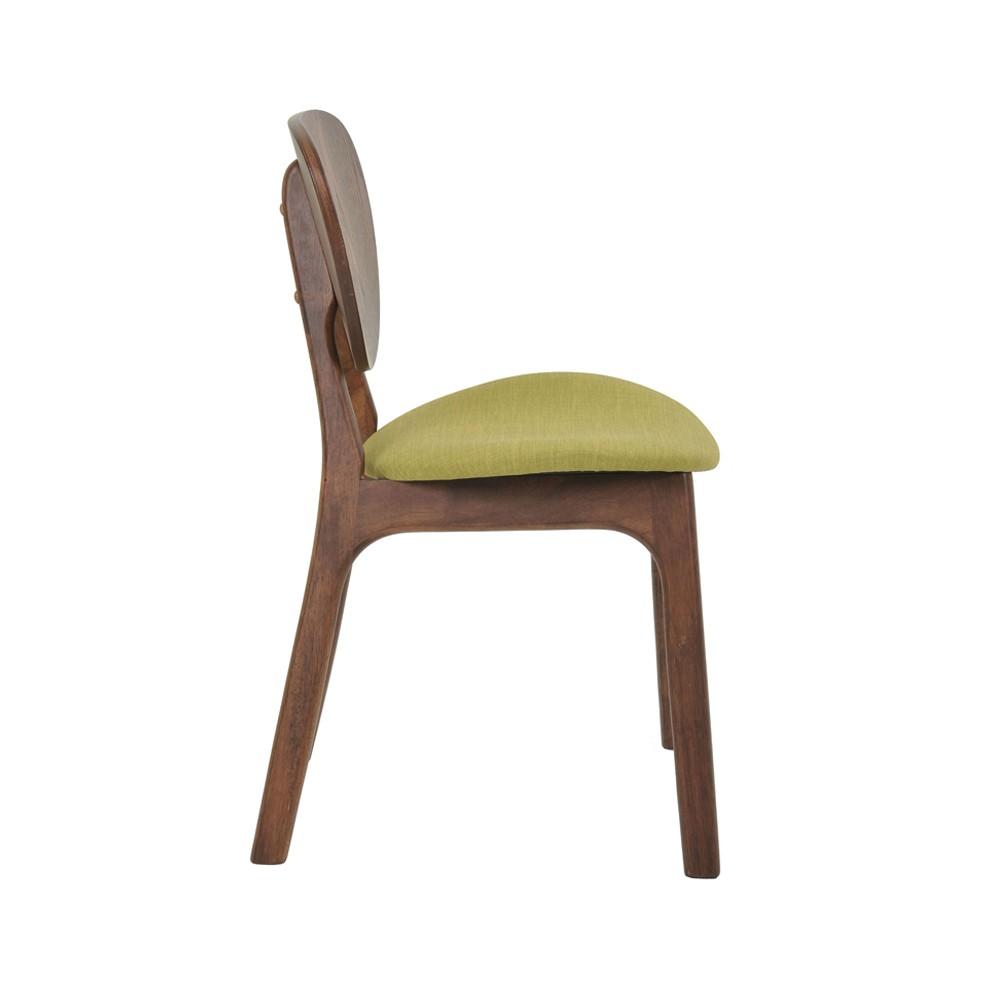 Cadeira Linha Escandinava Ingrid Com Encosto Madeira Rivatti