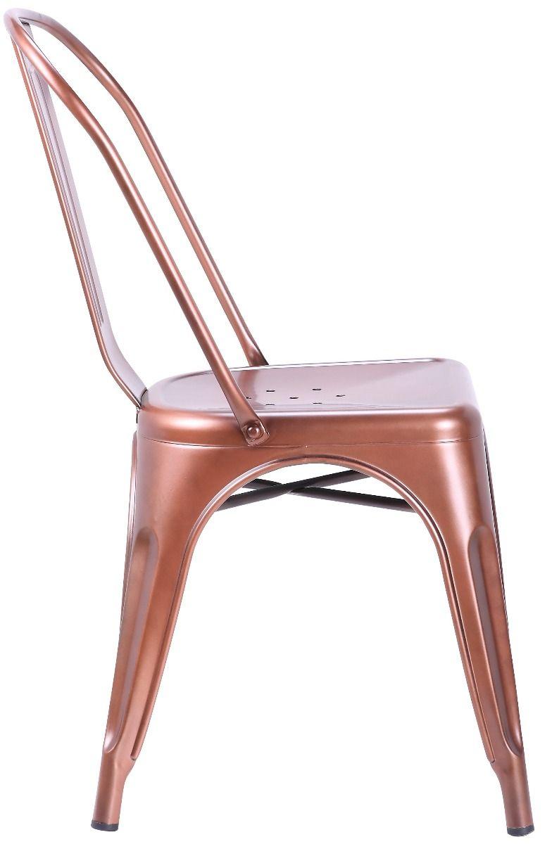 Cadeira Iron Cobre