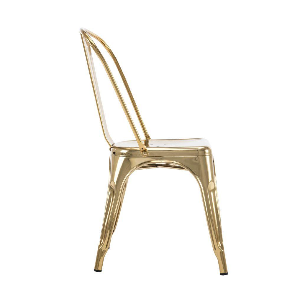 Cadeira Iron Espelhada Rivatti