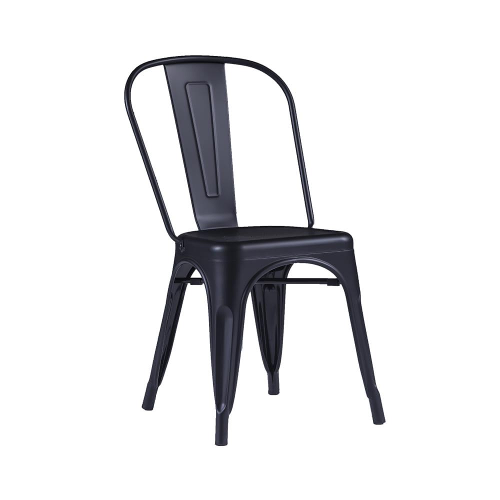 Cadeira Iron Preto Fosco Rivatti