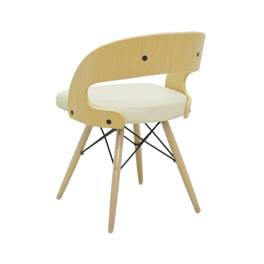 Cadeira Isabel PU ou Linho Rivatti