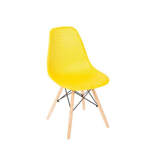 Cadeira Isabelli Base Madeira OR Design