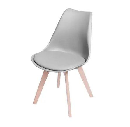 Cadeira Joly Base Madeira OR Design